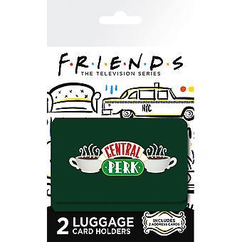 Držitel zavazadlového průkazu Friends Central Perk