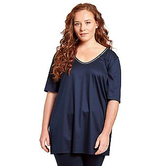 Rosch 1204649-11694 Women's Curve Night Blue Loungewear Top