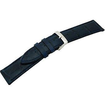 Morellato جلدية سوداء حزام سيدات الأزرق فقاعات 22 مم A01X2269480061CR22