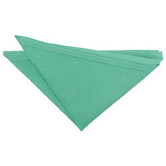 Tiffany Green Knitted Pocket Square