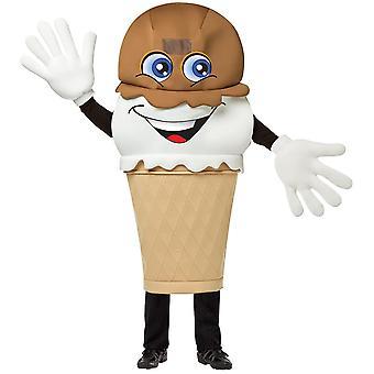 Ice Cream Waver kostym vuxen