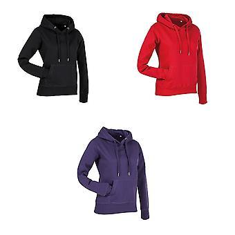 Stedman Womens/Ladies Active Sweat Hoody