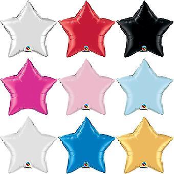 Qualatex 36 Inch Star Shaped Plain Foil Balloon