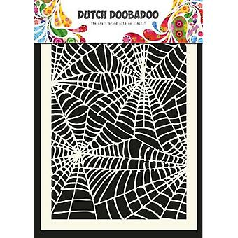 Dutch Doobadoo Spiderweb A5 Stencil Mask 470.715.011