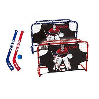 CCM Mini Tor Carey Pris Mini Hockey Deluxe Sæt