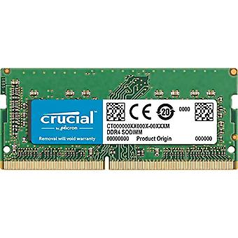 Crucial CT16G4S266M Memoria da 16 GB da Mac, DDR4, 2666 MT/s, PC4-21300, CL19, Dual Rank x8, SODIMM, 260-Pin