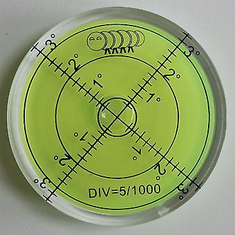 Acrylic Level (Green Liquid) 60mm Diameter