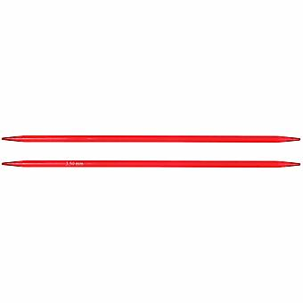 KnitPro Trendz: Strikkepinner: Double-Ended: Sett med fem: 15cm x 3.50mm