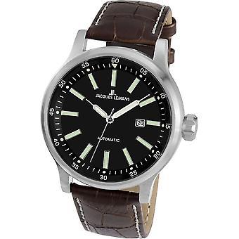 Jacques Lemans - Wristwatch - Men - Porto Automatic - Automatic - 1-1723B