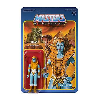 Super7 Teela (Shiva) Masters of the Universe ReAction Action Figure
