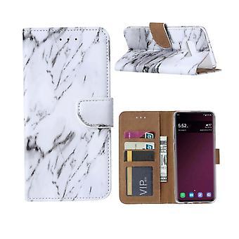 FONU Boekmodel Hoesje Marmerenprint Samsung Galaxy S10e