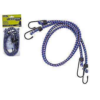 2pc Blue Bungee Cord Pack