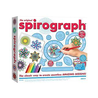 Det opprinnelige Spirograph settet med indikatorer