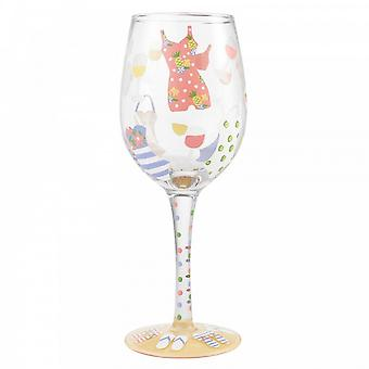 Lolita Cabana Cutie Wine Glass