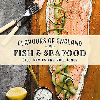 Flavours of England - Fish and Seafood by Gilli Davies - 9781912654758