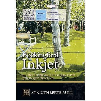 Bockingford Inkjet Paper – A3+, 20 Sheets