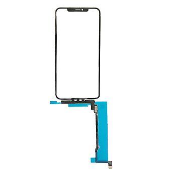 iPhone 11 Pro Max - タッチスクリーンデジタイザー&トップガラスレンズ OCA - ブルーフィルム用