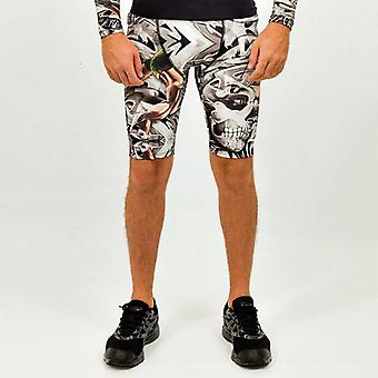 Costwo - Men's Running Short with graffiti design