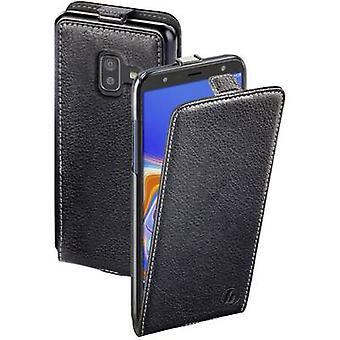 Hama Flap-Tasche Smart Case Flip Abdeckung Samsung Galaxy J6 Plus Schwarz