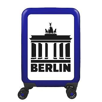 meinTrolley Berlin S, 4 rolls, 55 cm, 32 L, Blue