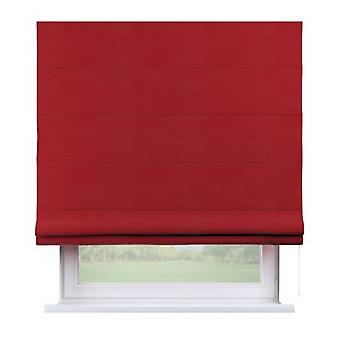 Raffrollo Capri, rood, 160 x 170 cm, Fluweel, 704-15