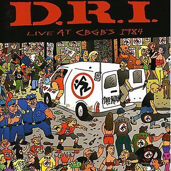 D.R.I. - Live på Cbgb's 1984 [CD] USA import