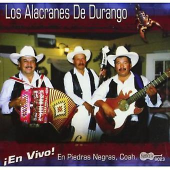Los Alacranes De Durango - En Vivo En Piedras Negras Coah [CD] USA import