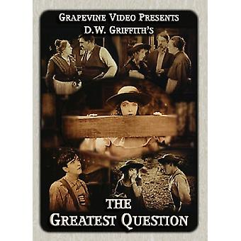 Greatest Question [DVD] USA import