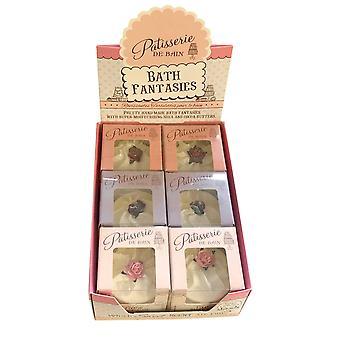 Patisserie de Bain Bath Tartlettes Dissolve and Relax 6 x 45g Assorted Fragrances