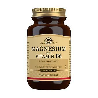 Magnesium med Vitamin B6 100 tabletter