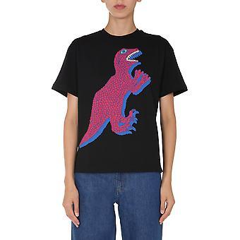 Ps Door Paul Smith W2r031vep210379 Women's Black Cotton T-shirt