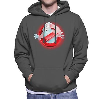 Ghostbusters Red No Ghost Logo Men's Hooded Sweatshirt