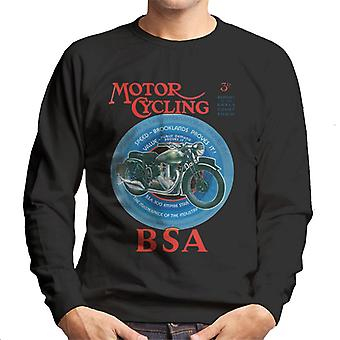 BSA Motor Cycling Empire Star Men's Sweatshirt