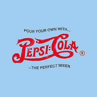 Pepsi Cola 1943 Distressed Logo gießen Sie Ihre eigenen Männer's Kapuzen Sweatshirt