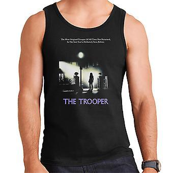 Alkuperäinen Stormtrooper Trooper Exorcist parodia tummille miehille ' s Vest
