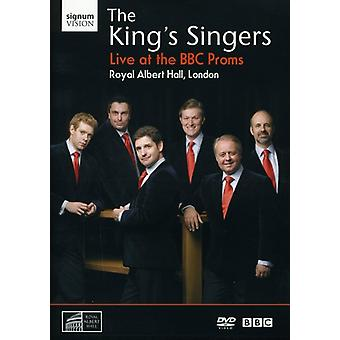 King's Singers - Live at the BBC Proms [DVD] USA import