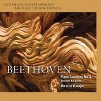 Beethoven, L. / Thomas, Michael Tilson - Piano Concerto No.3 - Mass in C [SACD] USA import