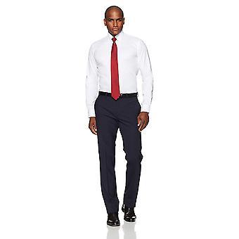 Abotoado Men's Slim Fit Button-Collar Non-Iron Dress Shirt (Sem Bolso), ...