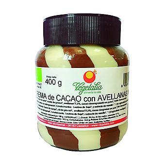Chocolate and Hazelnut Organic Cream Duo 400 g