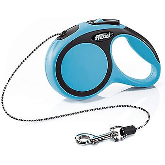 Flexi New Comfort Cord (3m) - Extra Small (8kg) - Bleu