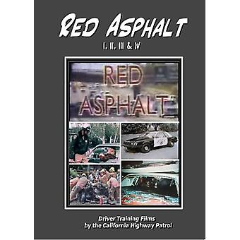 Asphalte rouge 1; 2; 3 & 4 importation USA [DVD]