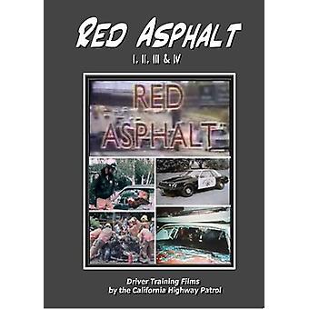 Red Asphalt 1; 2; 3 & 4 [DVD] USA import