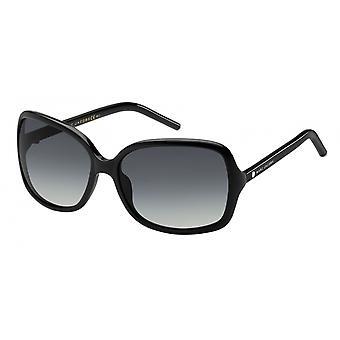 Sunglasses women rectangular black/grey running