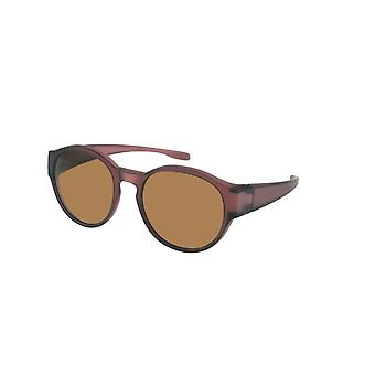 Sunglasses Unisex transfer red with brown lens VZ0039M3