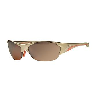 Sunglasses Unisex sport glasses gold/orange Polrx7017