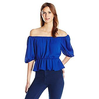 Amanda Uprichard Women's Cora Top, Royal, L