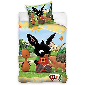 Bing Bunny Play Single Paplan cover set - Európai méret