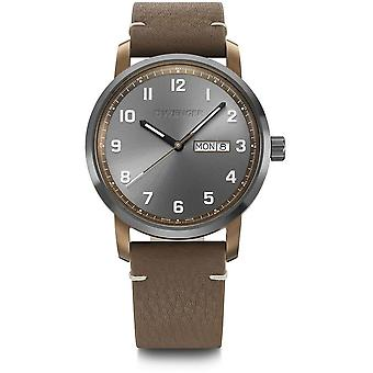 Wenger - Wristwatch - Men - Attitude - 01.1541.123 - anthracite, 42 mm