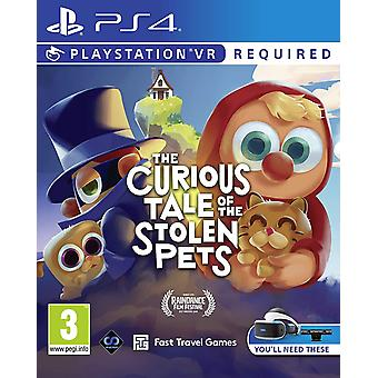 The Curious Tale of the Stolen Pets PSVR PlayStation VR PS4 Game
