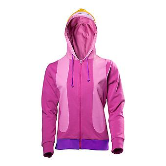 Adventure Time Princess Bubblegum geïnspireerd Cosplay Zipper Hoodie Female Large